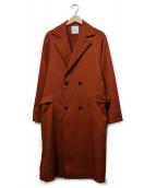 Luis(ルイス)の古着「ローブコート」|オレンジ