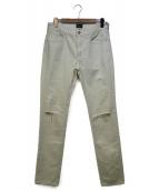 earmest sewn(アーネストソーン)の古着「パンツ」|ホワイト