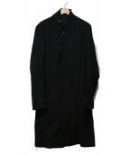 JULIUS(ユリウス)の古着「デザインロングコート」|ブラック