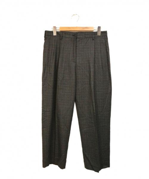 CellarDoor(セラドール)CellarDoor (セラドール) タックテーパードパンツ グレー サイズ:44の古着・服飾アイテム