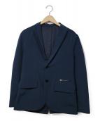 MINOTAUR(ミノトール)の古着「ウォータープルーフルーフテーラードジャケット」|ネイビー
