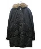 Maison Margiela(メゾンマルジェラ)の古着「モッズコート」|ブラック