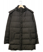 SANYO(サンヨー)の古着「シルバーフォックスダウンコート」|ブラウン