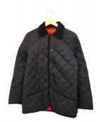 Traditional Weatherwear(トラディショナル ウェザーウェア)の古着「キルティングジャケット」|ネイビー