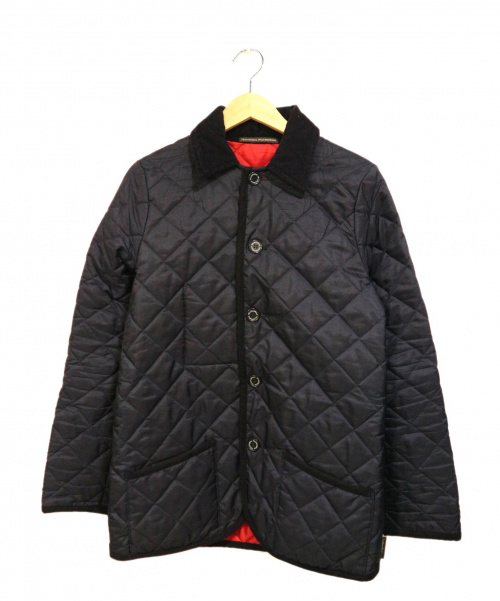 Traditional Weatherwear(トラディショナル ウェザーウェア)Traditional Weatherwear (トラディショナル ウェザーウェア) キルティングジャケット ネイビー サイズ:36の古着・服飾アイテム