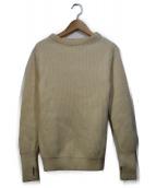 Andersen-Andersen 参考定価¥42.000+税 イタリア製(アンデルセン アンデルセン)の古着「クルーネックニット」|アイボリー