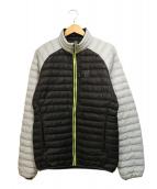 HAGLOFS(ホグロフス)の古着「エッセンスミミックジャケット」|グレー×ブラック