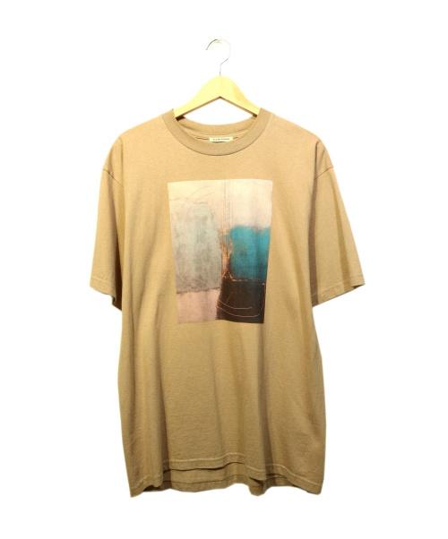 CLANE HOMME(クラネ オム)CLANE HOMME (クラネ オム) ART T/S ブラウン サイズ:1の古着・服飾アイテム