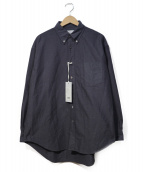 Graphpaper(グラフペーパー)の古着「B.Dオックスフォードシャツ」 グレー