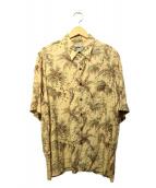 reyn spooner(レインスプーナー)の古着「ハワイアンシャツ」|ベージュ