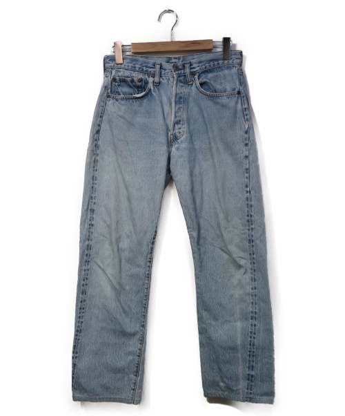 LEVIS(リーバイス)LEVIS (リーバイス) [古着]ヴィンテージ デニム パンツ スカイブルー サイズ:SIZE W32 66後期 スモールe ボタン裏6 縮率8%の古着・服飾アイテム
