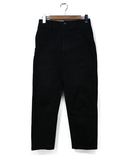 ACNE STUDIOS(アクネステュディオズ)ACNE STUDIOS (アクネステュディオズ) テーパードパンツ ブラック サイズ:44 ALBERT SALTの古着・服飾アイテム
