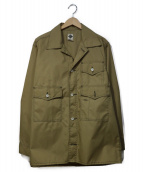 POST OALLS(ポストオーバーオールズ)の古着「ジャケット」 ベージュ