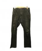 STABILIZER GNZ(スタビライザージーンズ)の古着「デニムパンツ」|ブラック