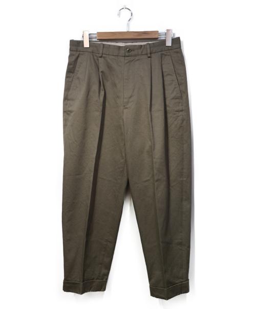 SCYE(サイ)SCYE (サイ) サンホアキン2プリーツパンツ ベージュ サイズ:38の古着・服飾アイテム