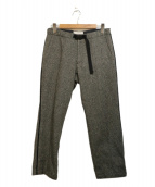 nanamica(ナナミカ)の古着「ウールパンツ」|グレー