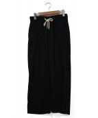 CellarDoor(セラドール)の古着「イージーパンツ」|ブラック