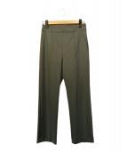 DES PRES(デプレ)の古着「オメガポンチ セミフレアクロップドパンツ」|グレー