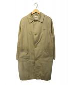 DANTON(ダントン)の古着「コットンルーズフィット ステンカラーコート」|ベージュ
