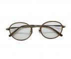 VIKTOR&ROLF(ヴィクターアンドロルフ)の古着「伊達眼鏡」 ベージュ