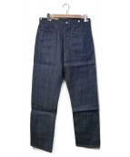 LEVIS VINTAGE CLOTHING(リーバイス ヴィンテージ クロージング)の古着「シンチバックデニムパンツ」|ブルー