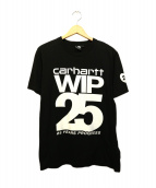 CARHARTT WIP(カーハート)の古着「プリントTシャツ」 ブラック