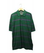 FRED PERRY(フレッドペリ)の古着「ポロシャツ」|グリーン