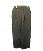 Graphpaper()の古着「Gauze Easy Pants」 グレー