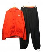 THE NORTH FACE(ザノースフェイス)の古着「セットアップジャケット」|ブラック×レッド