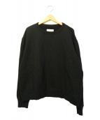 FACETASM(ファセッタズム)の古着「クルーネックスウェット」 ブラック