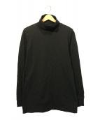 032c(032シー)の古着「タートルネックカットソー」 ブラック