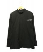 martine rose(マーティン ローズ)の古着「ハイネックカットソー」|ブラック