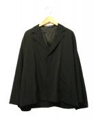 Ys(ワイズ)の古着「フレアスリーブジャケット」|ブラック