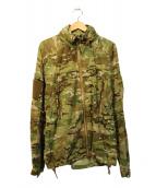 US ARMY(米軍)の古着「ソフトシェルジャケット」|カーキ