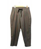 VAINL ARCHIVE(バイナルアーカイブ)の古着「ストライプパンツ」|グレー
