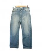 SERGE de bleu(サージ デ ブルー)の古着「デニムパンツ」|インディゴ
