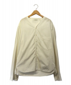 LEMAIRE(ルメール)の古着「Vネックシャツ」|ホワイト
