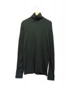 LEMAIRE AND SUNSPEL(ルメールアンドサンスペル)の古着「タートルネックカットソー」|ブラック