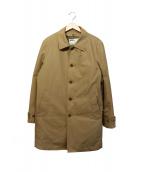 MHL(エムエイチエル)の古着「ダウンライナー付ステンカラーコート」|ベージュ