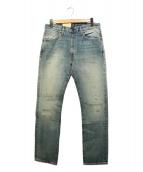 LEVIS VINTAGE CLOTHING(リーバイス ヴィンテージ クロージング)の古着「復刻デニムパンツ」|ブルー