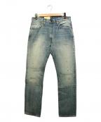 LEVIS VINTAGE CLOTHING(リーバイスヴィンテージクロージング)の古着「復刻デニムパンツ」|ブルー
