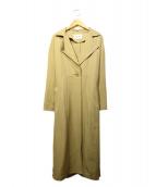 EMMEL REFINES(エメル リファインズ)の古着「トレンチコート」|ベージュ