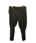 Y-3(ワイスリー)の古着「サルエルトラックパンツ」|ブラック