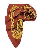 HERMES(エルメス)の古着「シルクスカーフ」|ブラウン