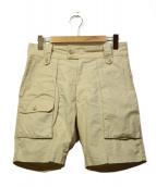 KAPTAIN SUNSHINE(キャプテン サンシャイン)の古着「ブッシュショーツ」|ベージュ