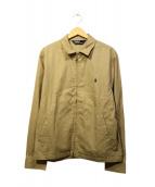 POLO RALPH LAUREN(ポロラルフローレン)の古着「スイングトップ」|ベージュ