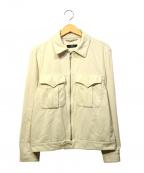 SYU.(シュウ)の古着「インナーコーデュロイジャケット」 ホワイト
