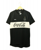 F.C.Real Bristol(エフシーレアルブリストル)の古着「COCA-COLA GAME SHIRT」|ブラック