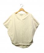 ENFOLD(エンフォルド)の古着「シルケット天竺コットンPO」|ホワイト