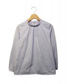 KUMIKYOKU(クミキョク)の古着「コンパクトジャージー カットソー」|パープル